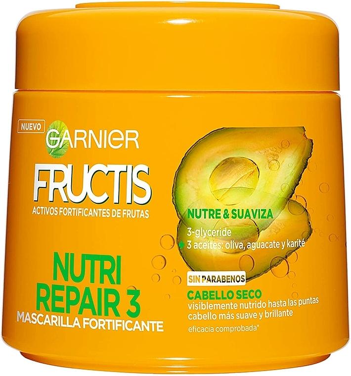 Feszesítő maszk - Garnier Fructis Hármas regeneráció — fotó N1