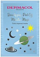 Parfüm, Parfüméria, kozmetikum Arcmaszk - Dermacol Beautifying Cleansing Peel-Off Metallic Mask