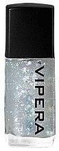 Parfüm, Parfüméria, kozmetikum Fedőlakk apró részecskékkel - Vipera Top Coat Metal Effect
