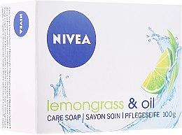 "Parfüm, Parfüméria, kozmetikum Krémszappan ""Citromfű és olaj"" - Nivea Lemongrass & oil crème soap"