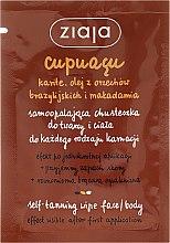 Parfüm, Parfüméria, kozmetikum Önbarnító kendő arcra és testre - Ziaja Cupuacu