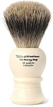 Parfüm, Parfüméria, kozmetikum Borotvapamacs, 9.5 cm, P1020 - Taylor of Old Bond Street Shaving Brush Pure Badger Size S