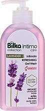 Parfüm, Parfüméria, kozmetikum Intim mosakodó gél - Bilka Intimate Refreshing Lavender Gel Wash