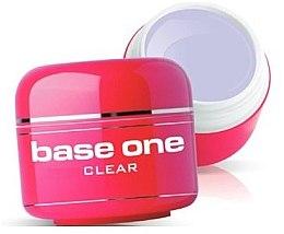 Parfüm, Parfüméria, kozmetikum Színtelen műkörömépítő zselé - Silcare Base One Clear