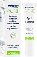 Parfüm, Parfüméria, kozmetikum Pattanás elleni szer - Novaclear Acne Spot Control