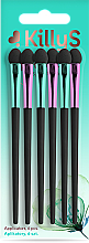 Parfüm, Parfüméria, kozmetikum Applikátor készlet, hosszú 6 db. - Killys Botanical Inspiration Applicators