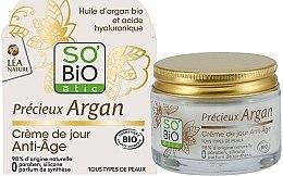 Parfüm, Parfüméria, kozmetikum Öregedésgátló nappali arckrém - So'Bio Etic Precieux Argan Anti-Age Day Cream