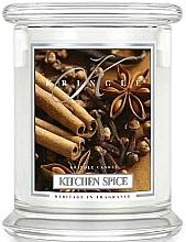 Parfüm, Parfüméria, kozmetikum Illatosított gyertya üvegben - Kringle Candle Kitchen Spice