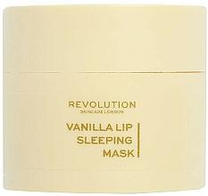 """Parfüm, Parfüméria, kozmetikum Éjszakai ajakmaszk """"Vanília"""" - Revolution Skincare Vanilla Lip Sleeping Mask"""