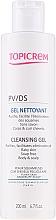 Parfüm, Parfüméria, kozmetikum Gyengéd tisztító gél - Topicrem PV/DS Cleansing Gel