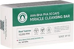 Parfüm, Parfüméria, kozmetikum Arcszappan - Some By Mi AHA/BHA/PHA 30 Days Miracle Cleansing Bar