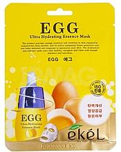 Parfüm, Parfüméria, kozmetikum Szövetmaszk tojássárgája kivonattal - Ekel Egg Ultra Hydrating Mask