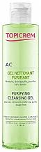 Parfüm, Parfüméria, kozmetikum Tisztító arcgél - Topicrem Purifying Cleansing Gel