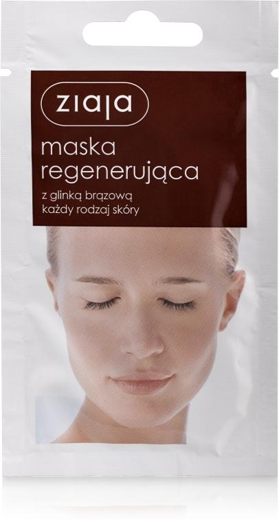 """""""Regeneráló"""" arcmaszk barna agyaggal - Ziaja Face Mask"""