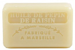Parfüm, Parfüméria, kozmetikum Marseille szappan szőlőmagolajjal - Foufour Savonnette Marseillaise Huile de Pepin de Raisin