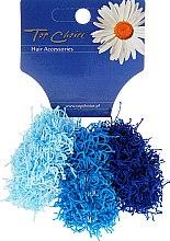 Parfüm, Parfüméria, kozmetikum Hajgumi 3 db, világodkék és kék, 21695 - Top Choice