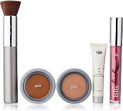 Parfüm, Parfüméria, kozmetikum Szett - Pur Minerals Best Sellers Starter Kit Blush Medium (primer/10ml+found/4.3g+bronzer/3.4g+mascara/5g+brush)