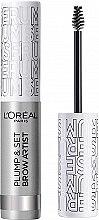 Parfüm, Parfüméria, kozmetikum Szemöldök szérum, színtelen - L'Oreal Paris Brow Artist Plump & Set Serum