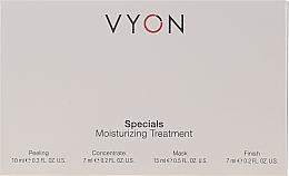 Parfüm, Parfüméria, kozmetikum Szett - Vyon Specials Moisturizing Treatment (f/peeling/10ml + f/conc/7ml + f/mask/15ml + f/cr/7ml)