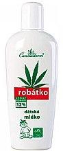 Parfüm, Parfüméria, kozmetikum Mindennapi testápoló tej gyerekeknek - Cannaderm Robatko