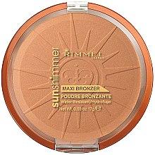 Parfüm, Parfüméria, kozmetikum Arcpúder - Rimmel Sunshimmer Maxi Bronzer