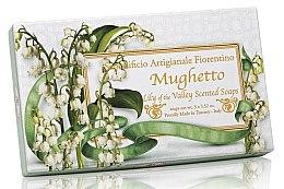 """Parfüm, Parfüméria, kozmetikum Természetes szappan szett """"Gyöngyvirág"""" - Saponificio Artigianale Fiorentino Lily Of The Valley Scented Soap (soap/3pcsx100g)"""