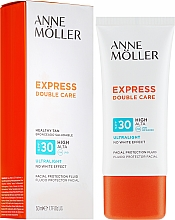 Parfüm, Parfüméria, kozmetikum Napvédő arcfluid - Anne Moller Double Care Ultralight Facial Protection Fluid SPF30