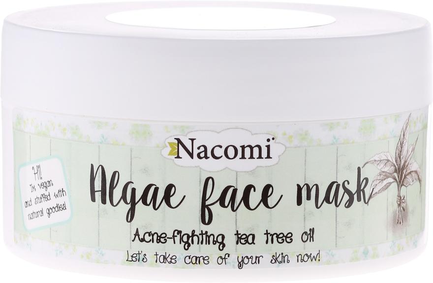 """Alginát arcmaszk """"Zöld tea"""" - Nacomi Professional Face Mask"""