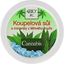 Parfüm, Parfüméria, kozmetikum Fürdősó - Bione Cosmetics Cannabis Bath Salt with Dead Sea Minerals
