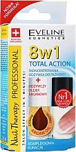 Parfüm, Parfüméria, kozmetikum Magas hatékonyságú szer körömre 8az1 - Eveline Cosmetics Nail Therapy