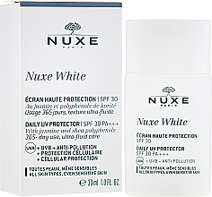 Parfüm, Parfüméria, kozmetikum Napvédő arcra - Nuxe White Daily UV Protector SPF30 PA+++