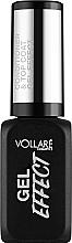 Parfüm, Parfüméria, kozmetikum Körömerősítő - Vollare Cosmetics Gel Effect Top Coat