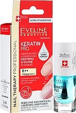 Parfüm, Parfüméria, kozmetikum Körömerősítő - Eveline Cosmetics Nail Therapy Professional Keratin Pro