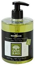 Parfüm, Parfüméria, kozmetikum Folyékony szappan olíva olajjal - Saryane Olive & Moi Liquid Soap