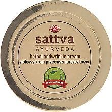 Parfüm, Parfüméria, kozmetikum Növényi krém ránctalanító hatással - Sattva Ayurveda Anti-Wrinkle Cream