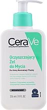 Parfüm, Parfüméria, kozmetikum Arc- és testtisztító gél normál és zsíros bőrre - CeraVe Foaming Cleanser