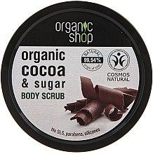 "Parfüm, Parfüméria, kozmetikum Testradír ""Belga csokoládé"" - Organic Shop Body Scrub Organic Cocoa & Sugar"