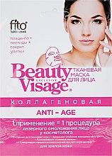 "Parfüm, Parfüméria, kozmetikum Kollagénes szövetmaszk ""Anti-Age"" - FitoKosmetik Beauty Visage"