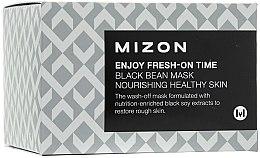 Parfüm, Parfüméria, kozmetikum Expressz ránctalanító maszk fekete bab kivonattal - Mizon Enjoy Fresh On-Time Black Bean Mask