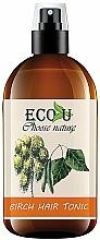 Parfüm, Parfüméria, kozmetikum Tonik hajra nyírfa kivonatával - Eco U Birch Hair Tonic