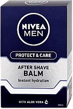 Parfüm, Parfüméria, kozmetikum Hidratáló borotválkozás utáni balzsam - Nivea Men Prtotect & Care Moisturizing After Shave Balm
