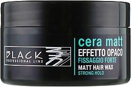 Parfüm, Parfüméria, kozmetikum Mattító hajwax - Black Professional Line Cera Matt Effetto Opaco