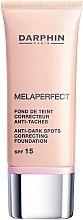 Parfüm, Parfüméria, kozmetikum Alapozó szer pigment foltok ellen - Darphin Melaperfect Anti-Dark Spots Correcting Foundation SPF 15