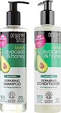 Parfüm, Parfüméria, kozmetikum Hajregeneráló készlet - Organic Shop (h/shm/280ml + h/cond/280ml)
