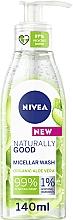 Parfüm, Parfüméria, kozmetikum Micellás mosakodó gél - Nivea Naturally Good Micellar Wash