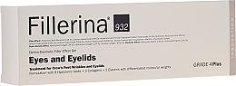 Parfüm, Parfüméria, kozmetikum Ráncfeltöltő gél szemkörnyékre, 4. szint - Fillerina Eyes And Eyelids Grade 4 Plus