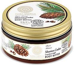 Parfüm, Parfüméria, kozmetikum Éjszakai testápoló vaj - Natura Siberica Flora Siberica Siberian Cedar Luxurious Night Body Butter