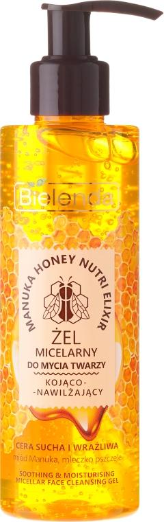Hidratáló micellás gél - Bielenda Manuka Honey Gel Micelar
