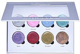 Parfüm, Parfüméria, kozmetikum Smink glitter paletta - Bellapierre 8 Color Pro Glitter Eye Palette