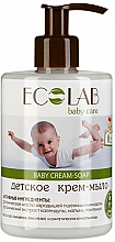 Parfüm, Parfüméria, kozmetikum Folyékony baba szappan - ECO Laboratorie Baby Cream-Soap